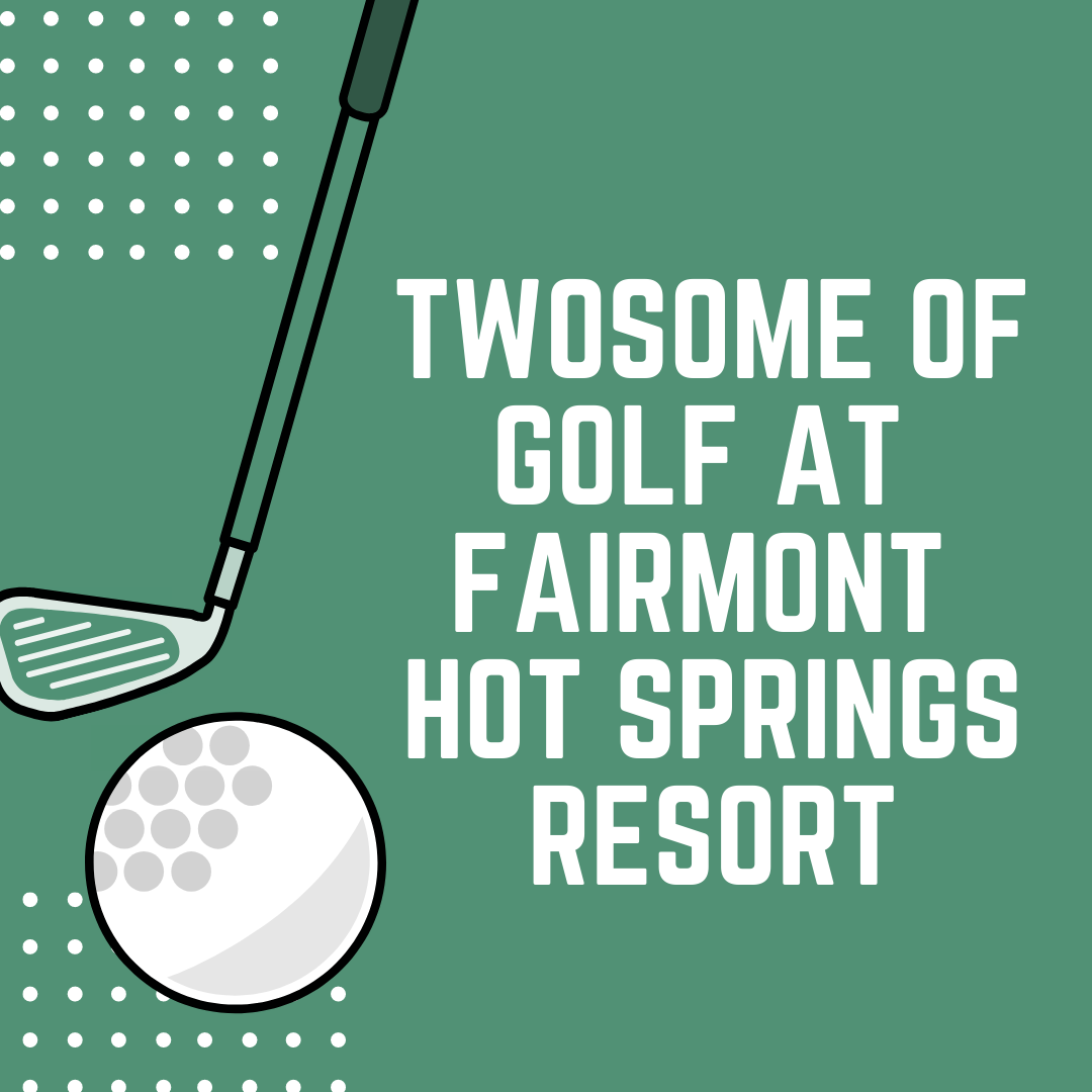 Fairmont Hot Springs Resort Golf Package